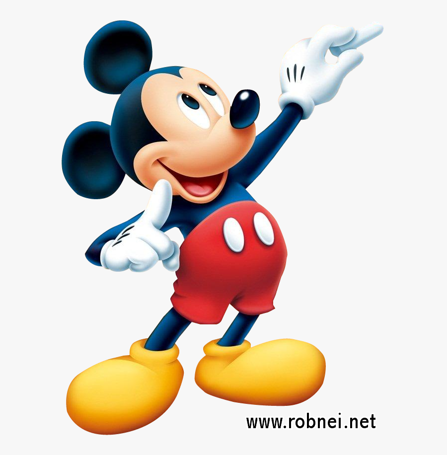 Mickey Clipart Character Disney - Mickey Mouse Png, Transparent Clipart