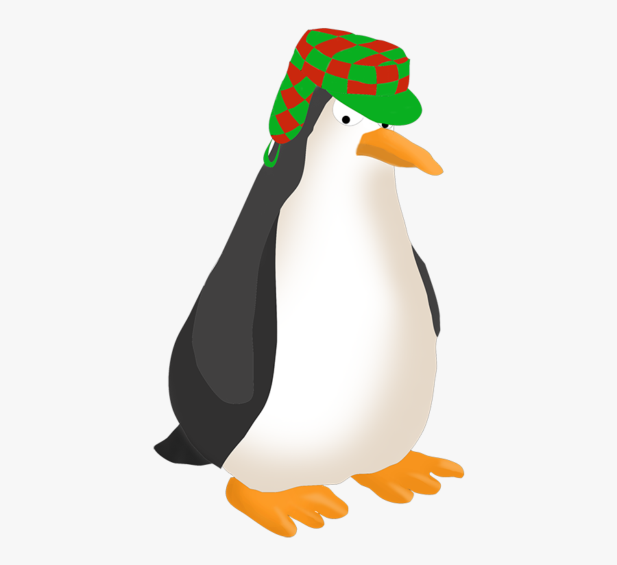 Angry Penguin Drawing - Adã©lie Penguin, Transparent Clipart