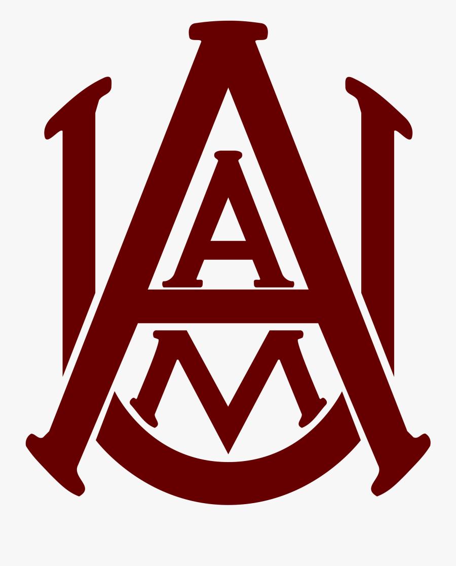 Clip Art Alabama Svg - Alabama A&m University Logo, Transparent Clipart