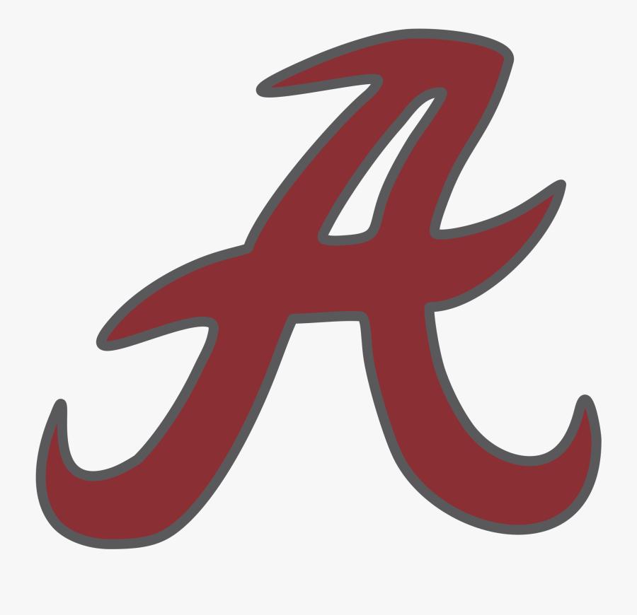 University Of Alabama Alabama Crimson Tide Football - University Of Alabama Logo Png, Transparent Clipart