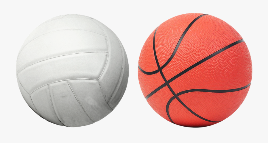 Volleyball And Basketball Ball, Transparent Clipart
