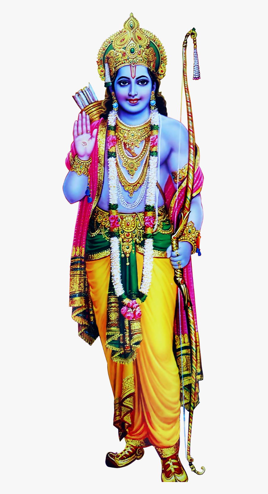 Lord Rama Png, Transparent Clipart