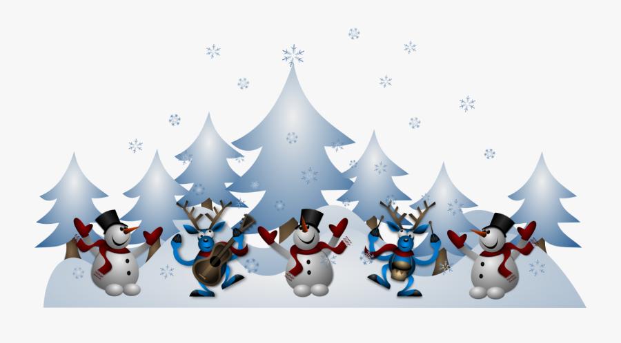 Transparent Christmas Scene Png, Transparent Clipart