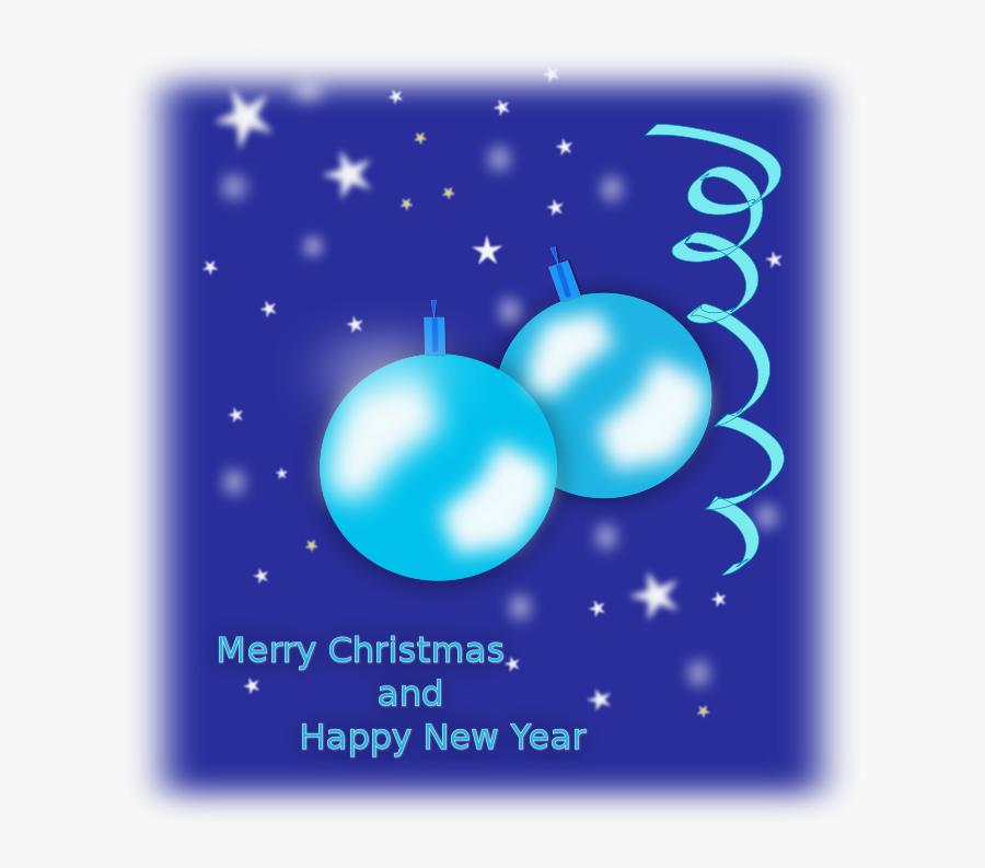 Christmas Card - Christmas Ornament, Transparent Clipart