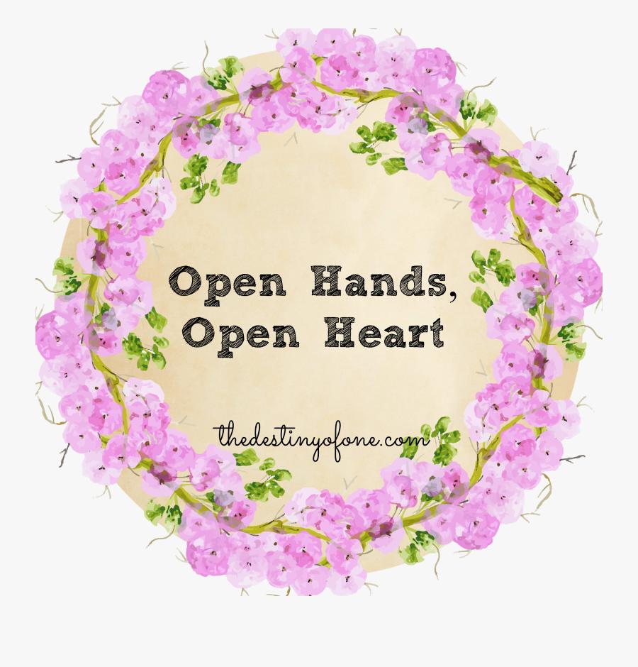 Transparent Open Giving Hands Clipart - Watercolor Painting, Transparent Clipart
