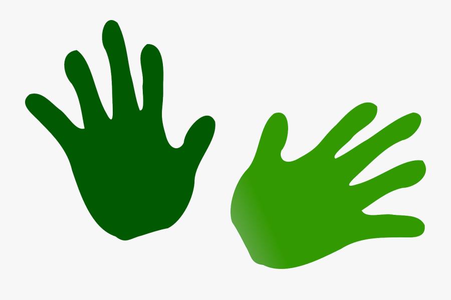 Net » Clip Art » Green Hands Svg - Green Hands Clipart, Transparent Clipart