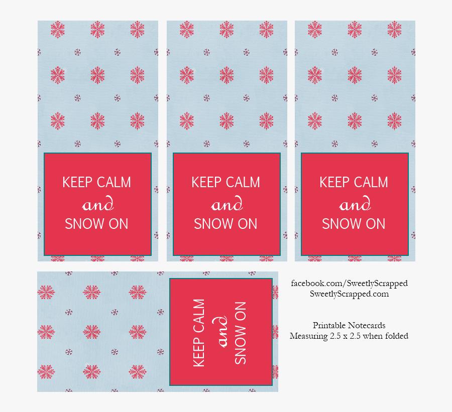 Transparent Christmas Cards Clipart - Mini Christmas Card Printable, Transparent Clipart