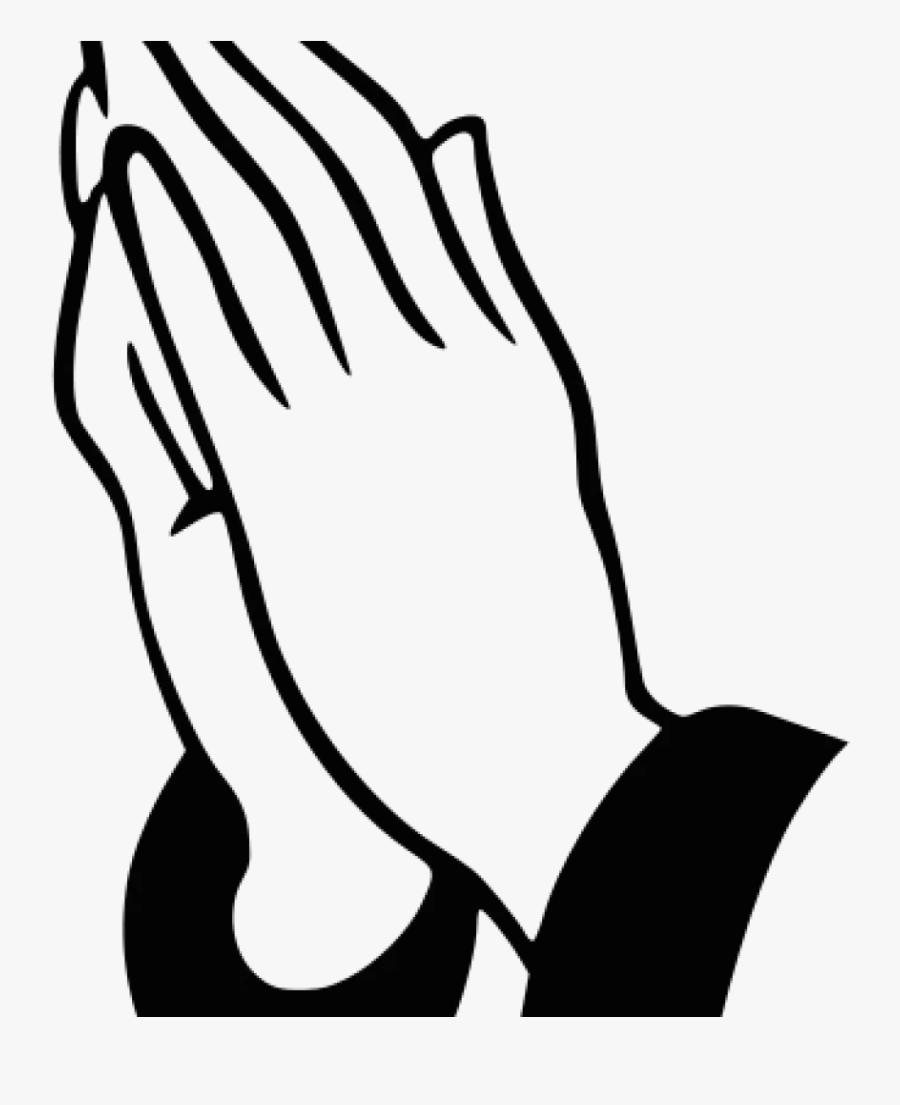 Clipart Praying Hands - Praying Hands Emoji Drawing, Transparent Clipart
