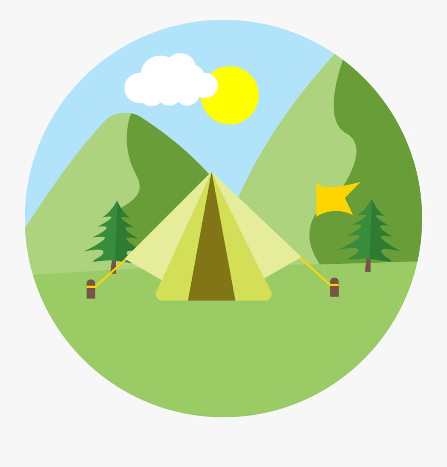 Transparent Camping - Hotel Camping Png, Transparent Clipart
