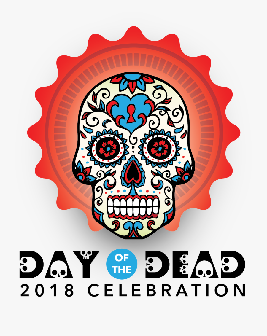 Transparent Day Of The Dead Skull Png - History Of The Mexican Day Of The Dead, Transparent Clipart