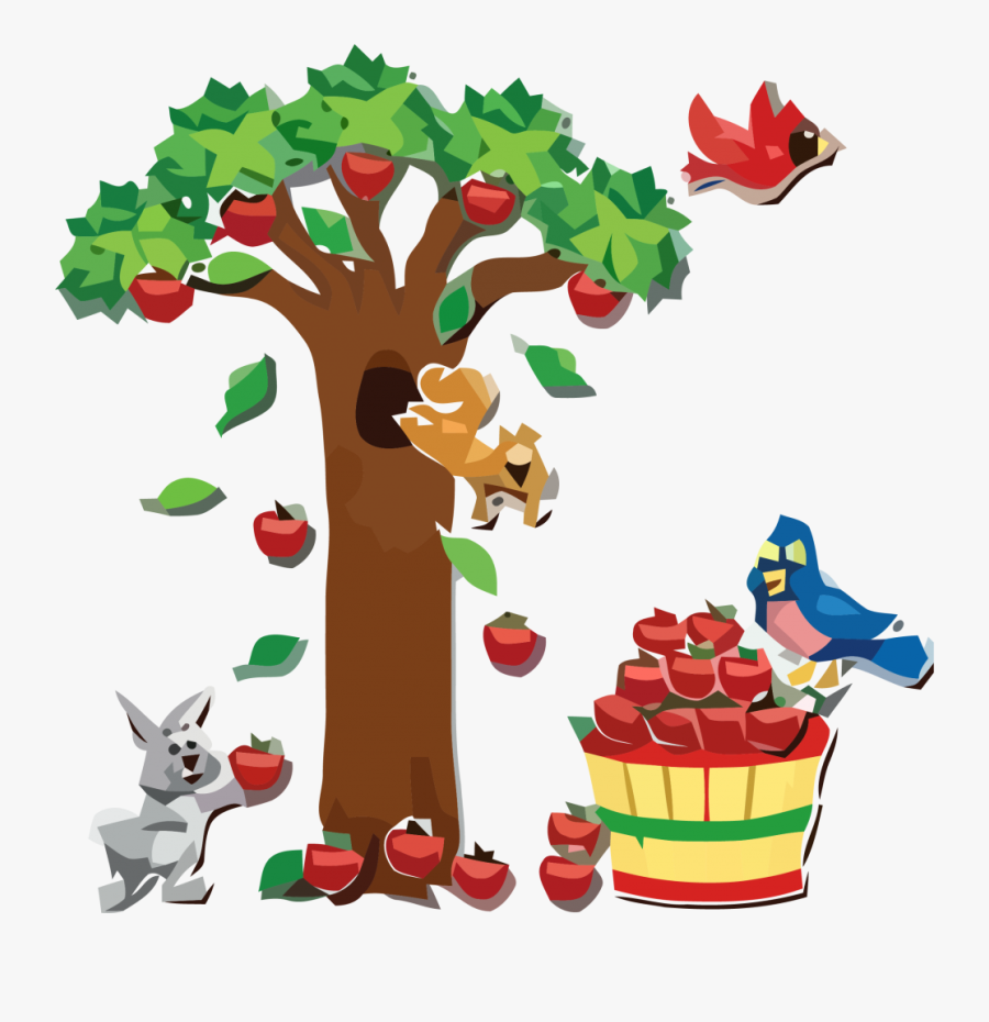 Apple And Animals Clipart Png - Class Room Decorations Fomic Sheets, Transparent Clipart