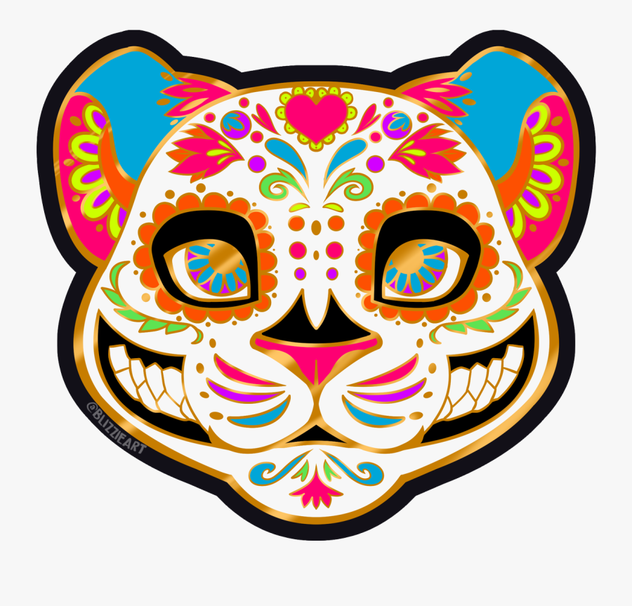 Sugar Skull From Coco, Transparent Clipart