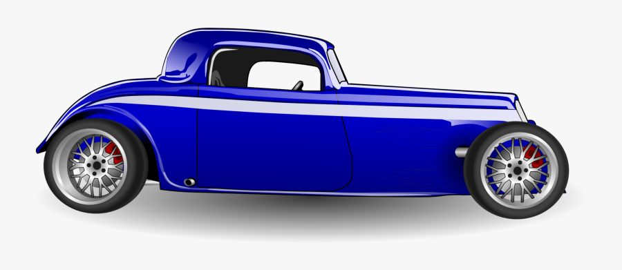 Old Hot Rod Car Png Image Hot Rod - Hot Rod Side View, Transparent Clipart