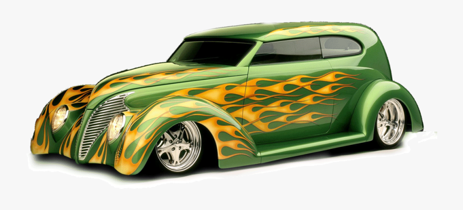 Hot Rod Lowrider Png Clipart - Hot Rod Png, Transparent Clipart