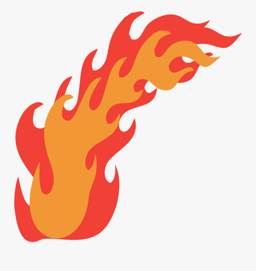 Hot Rod Flames Png - Long Flame Vector Png, Transparent Clipart
