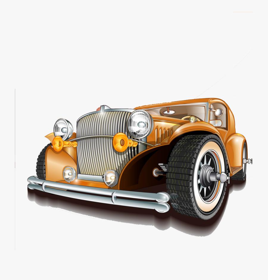 Transparent Mechanic Shop Clipart - Vintage Car Service Posters, Transparent Clipart