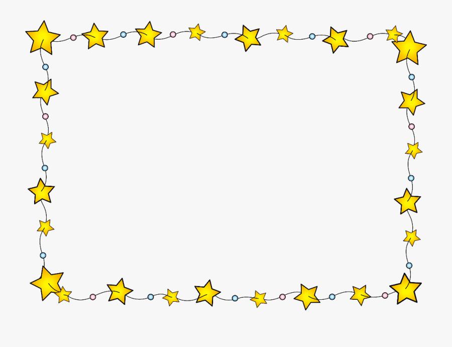Star Border Png, Transparent Clipart