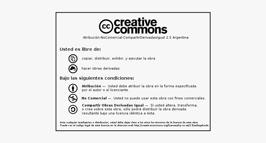 Creative Commons By Nc Sa Printable Version - Creative Commons, Transparent Clipart