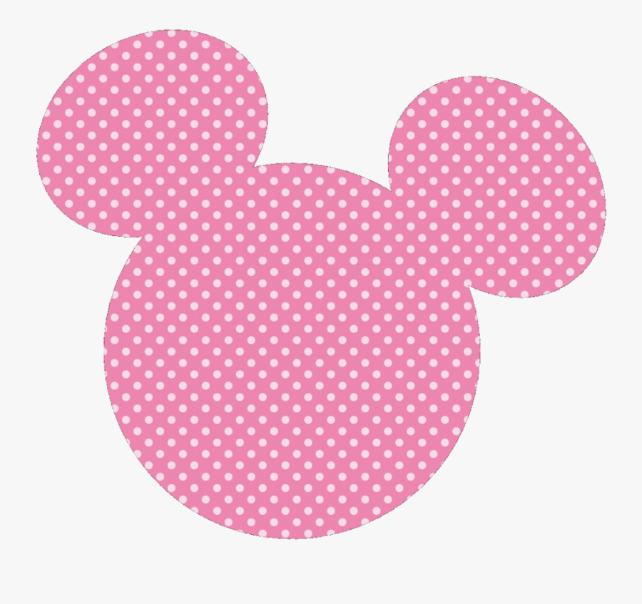 Minnie Mouse Mickey Mouse Image Clip Art Paper - Cabeza De Minnie Mouse Rosa, Transparent Clipart