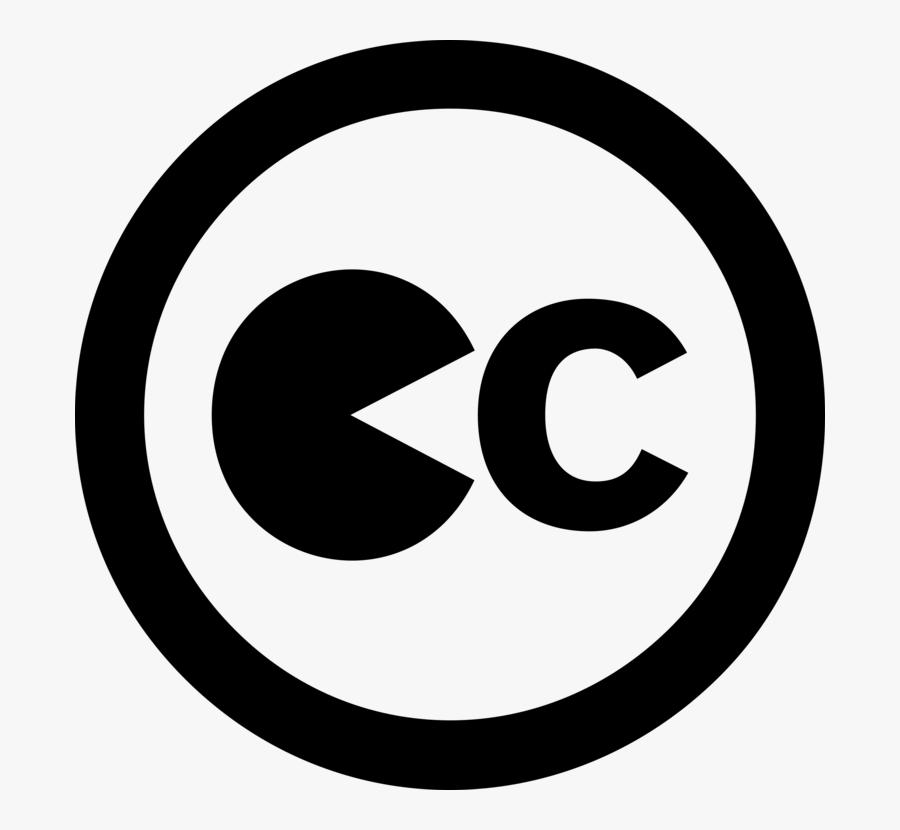 Area,monochrome Photography,text - Creative Commons Logo, Transparent Clipart