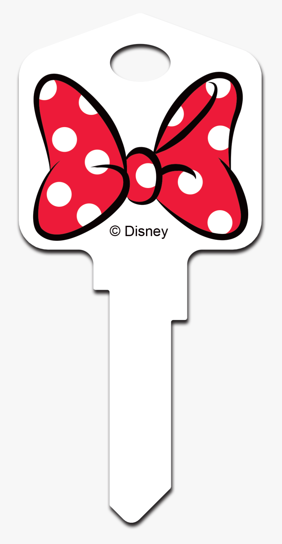 Minnie Mouse Red Bow, Transparent Clipart