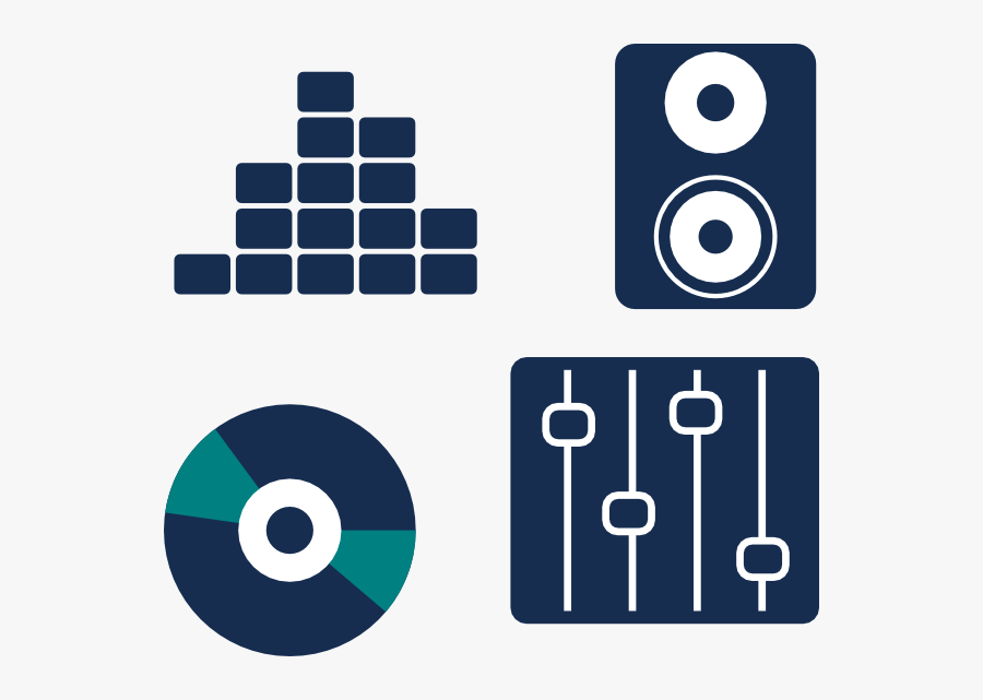 Music Icon Clip Art - Clipart Music Icon, Transparent Clipart