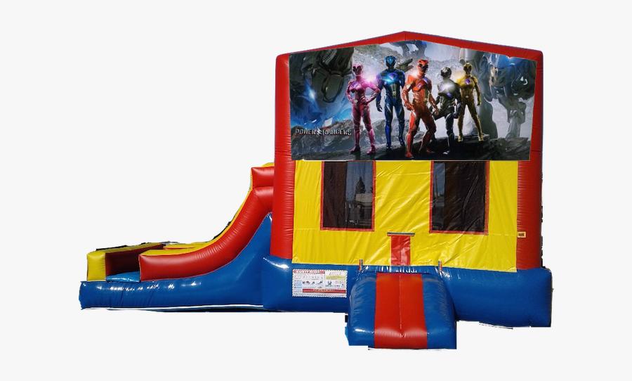 2 Lanes Side Slide Jumper Power Rangers $180/day - Portable Network Graphics, Transparent Clipart