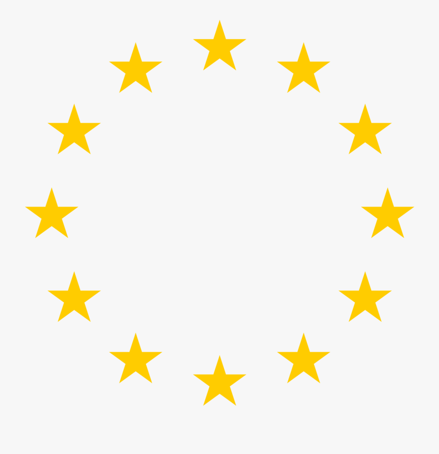 European Cliparts - European Union Stars, Transparent Clipart