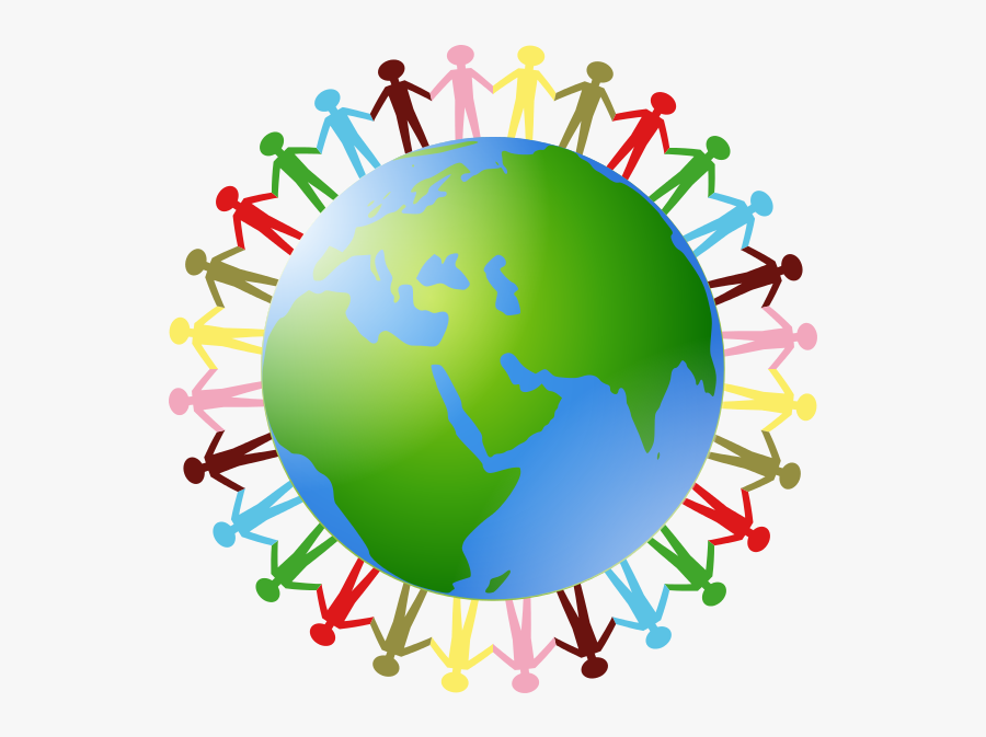 Clip Art Clipart Of On - Earth Holding Hands Clipart, Transparent Clipart