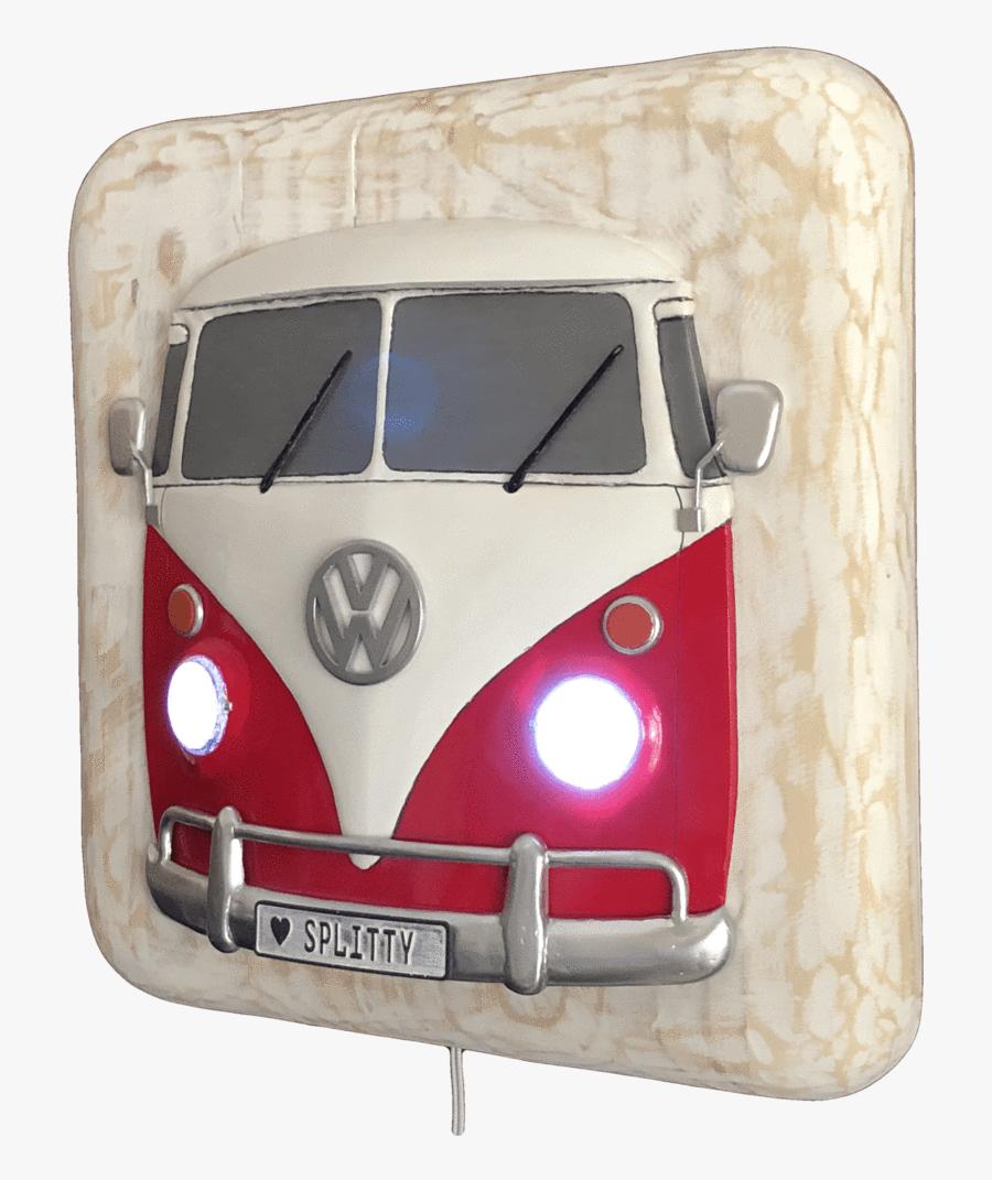 Split Window Vw Bus - Volkswagen Type 2, Transparent Clipart
