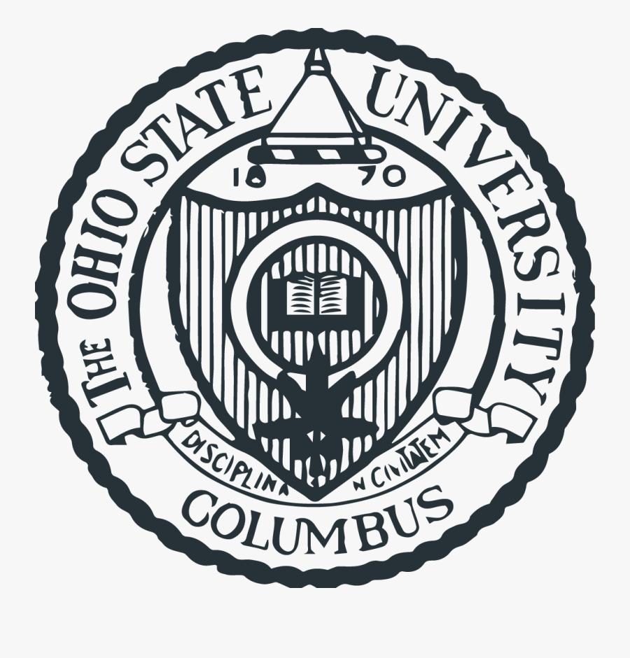 The Ohio State University - Ohio State University Columbus Emblem, Transparent Clipart