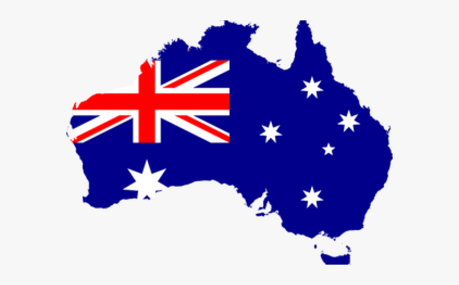 Australia Clipart Continent - Australia Flag Country Png ...