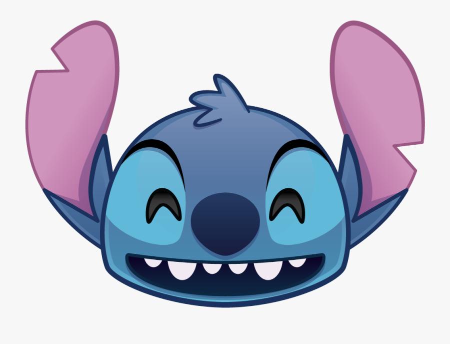 Disney Emoji Blitz Stitch The Walt Disney Company Disney - Disney Emoji Blitz Stitch, Transparent Clipart