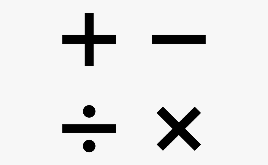Clip Art X History Steemit In - Transparent Math Symbols, Transparent Clipart
