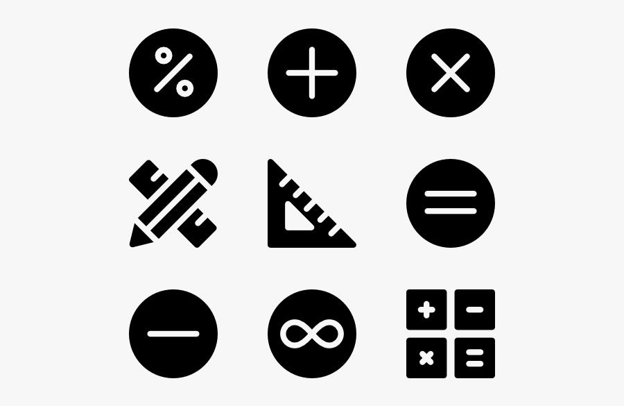 Math Symbols Clipart Png, Transparent Clipart