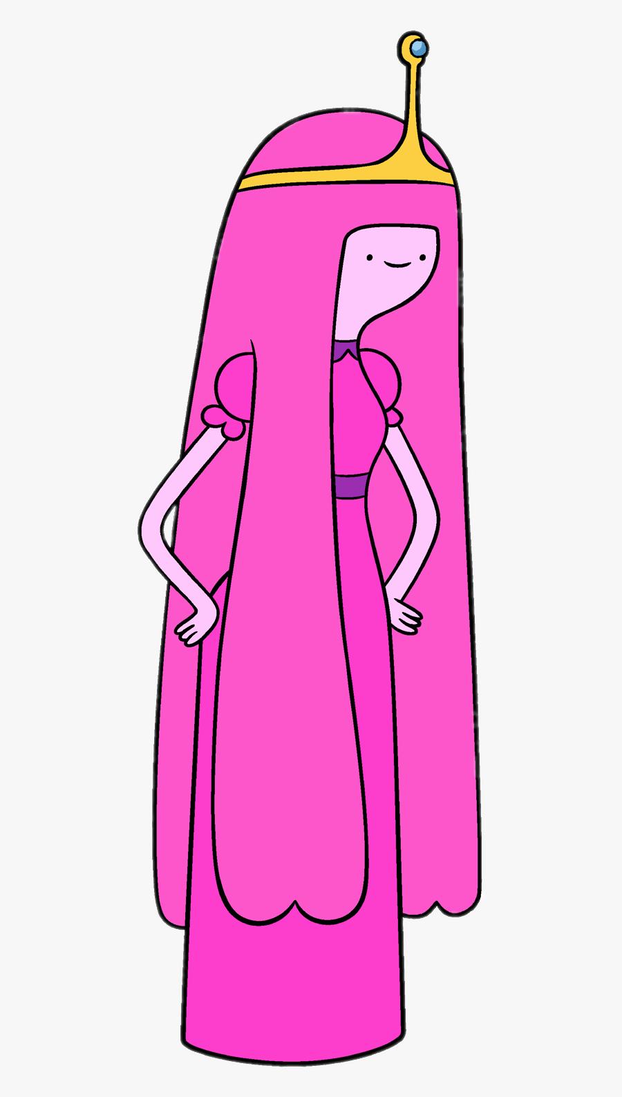 Adventure Time Princess Bubblegum Looking Down - Adventure Time Princess Bubblegum Png, Transparent Clipart