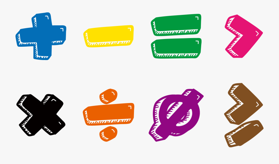 Transparent Mathematician Clipart - Math Symbols Transparent Background, Transparent Clipart