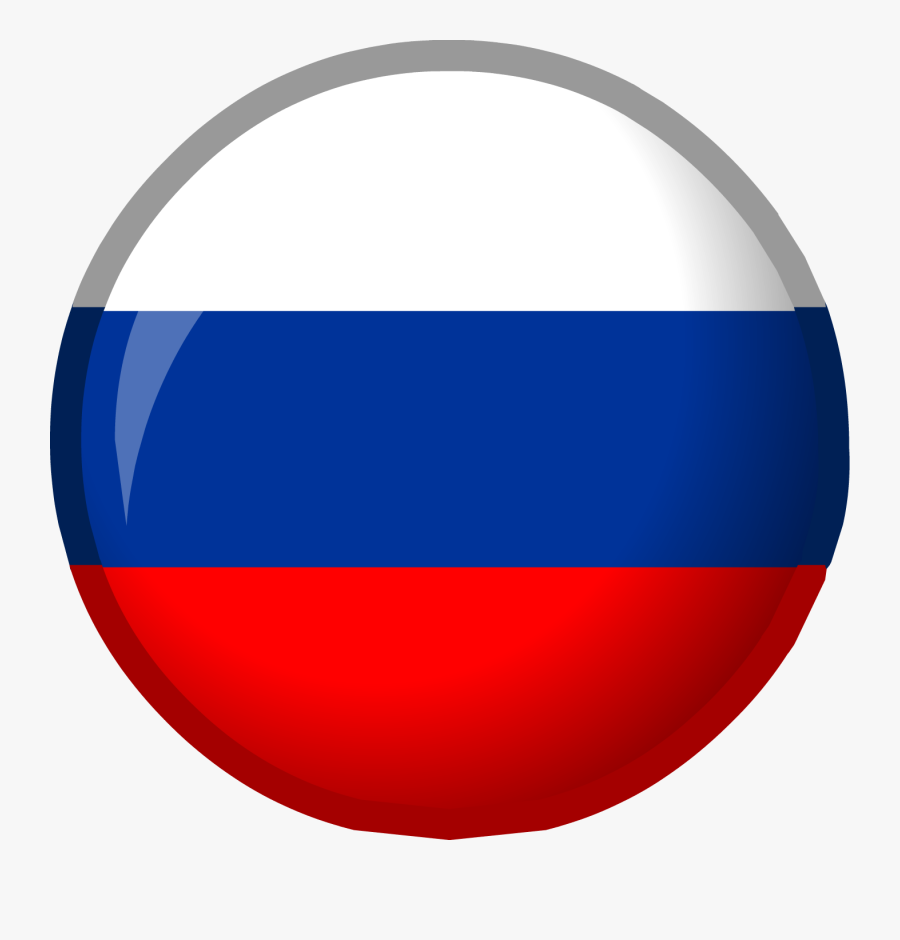 Flag Of Russia Flag Of Slovenia National Flag Day In - Round Russia Flag Png, Transparent Clipart