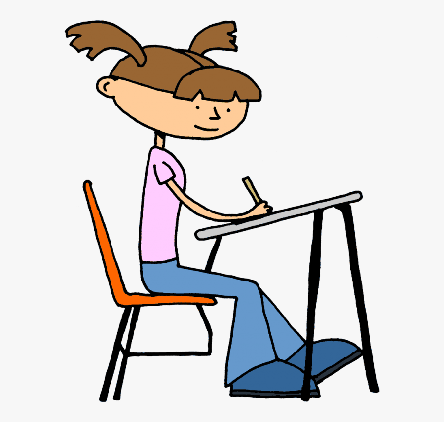 Students Writing Clipart - Student Writing Clipart Transparent, Transparent Clipart