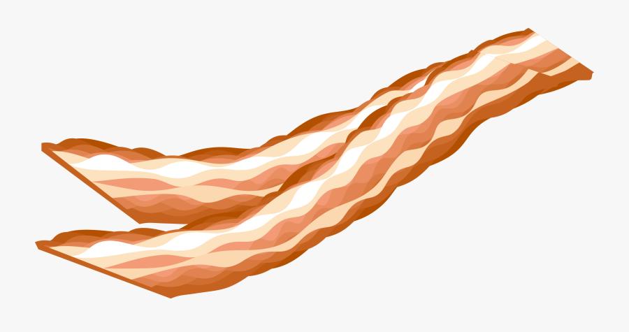Transparent Bacon Png - Bacon Sausage Clip Art, Transparent Clipart