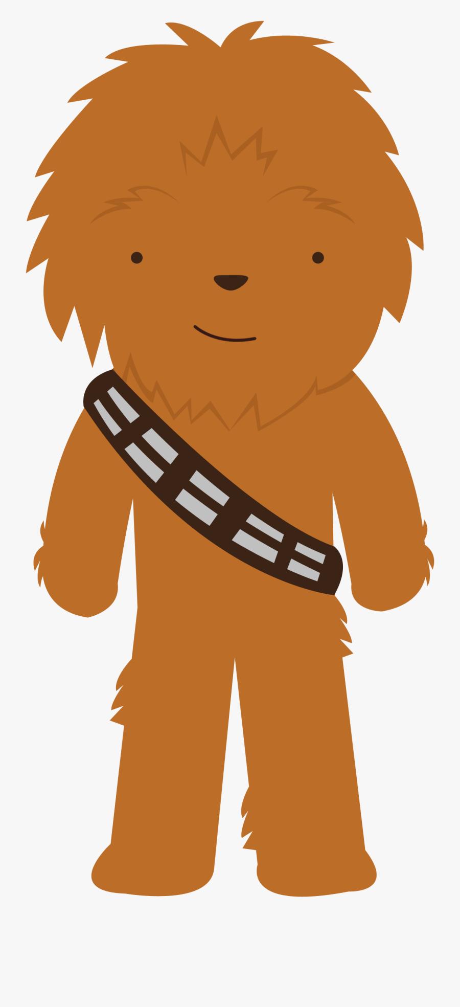 Star Wars - Star Wars Chewbacca Cute, Transparent Clipart