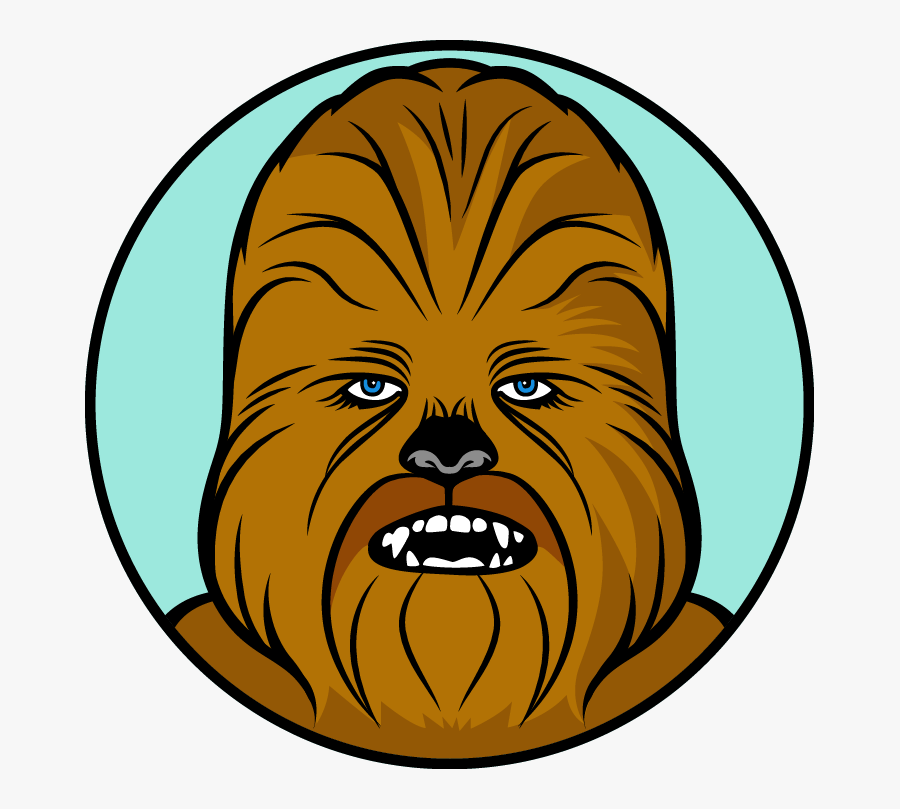 Picking Star Wars Character All Star Teams For Baseball - Star Wars Chewbacca Clipart, Transparent Clipart