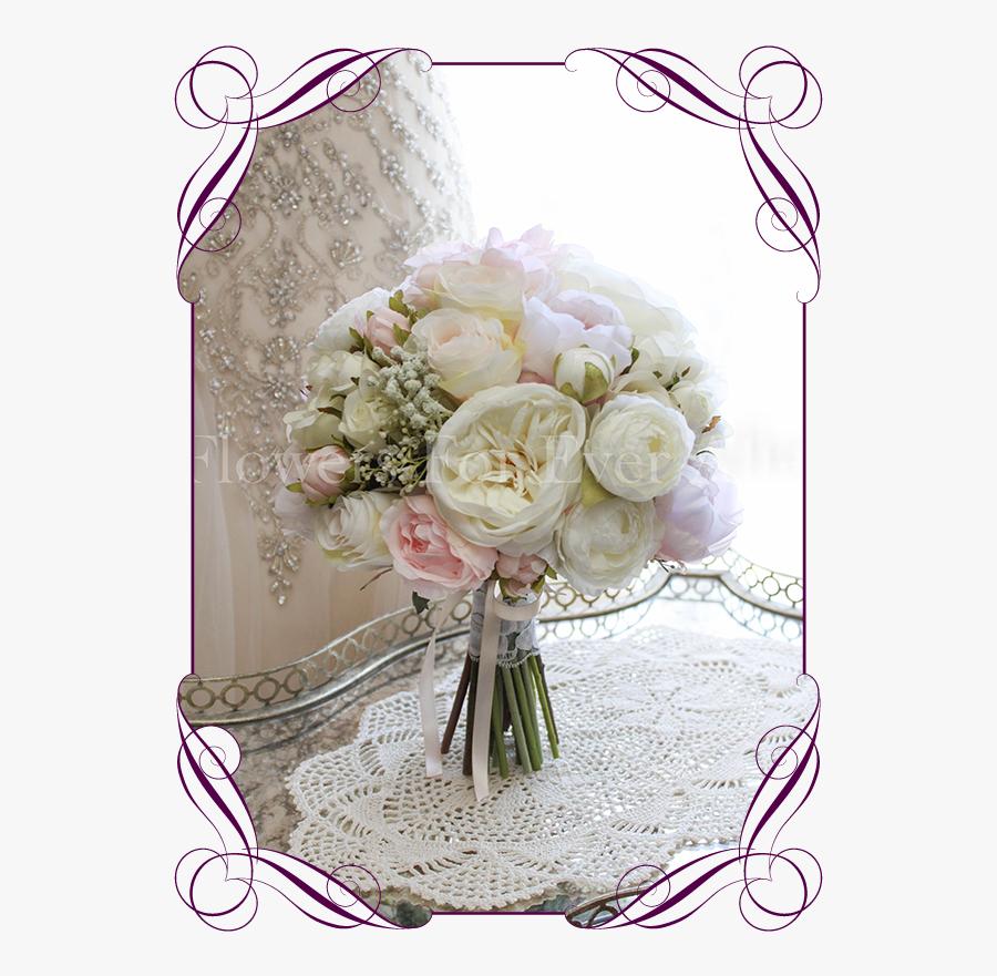 Clip Art Babys Breath Wedding Bouquet - Artificial Boho Wedding Bouquets, Transparent Clipart
