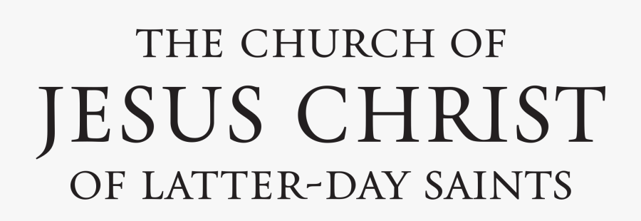 Logo Of The Church Of Jesus Christ Of Latter-day Saints - Church Of Jesus Christ Of Latter-day Saints, Transparent Clipart
