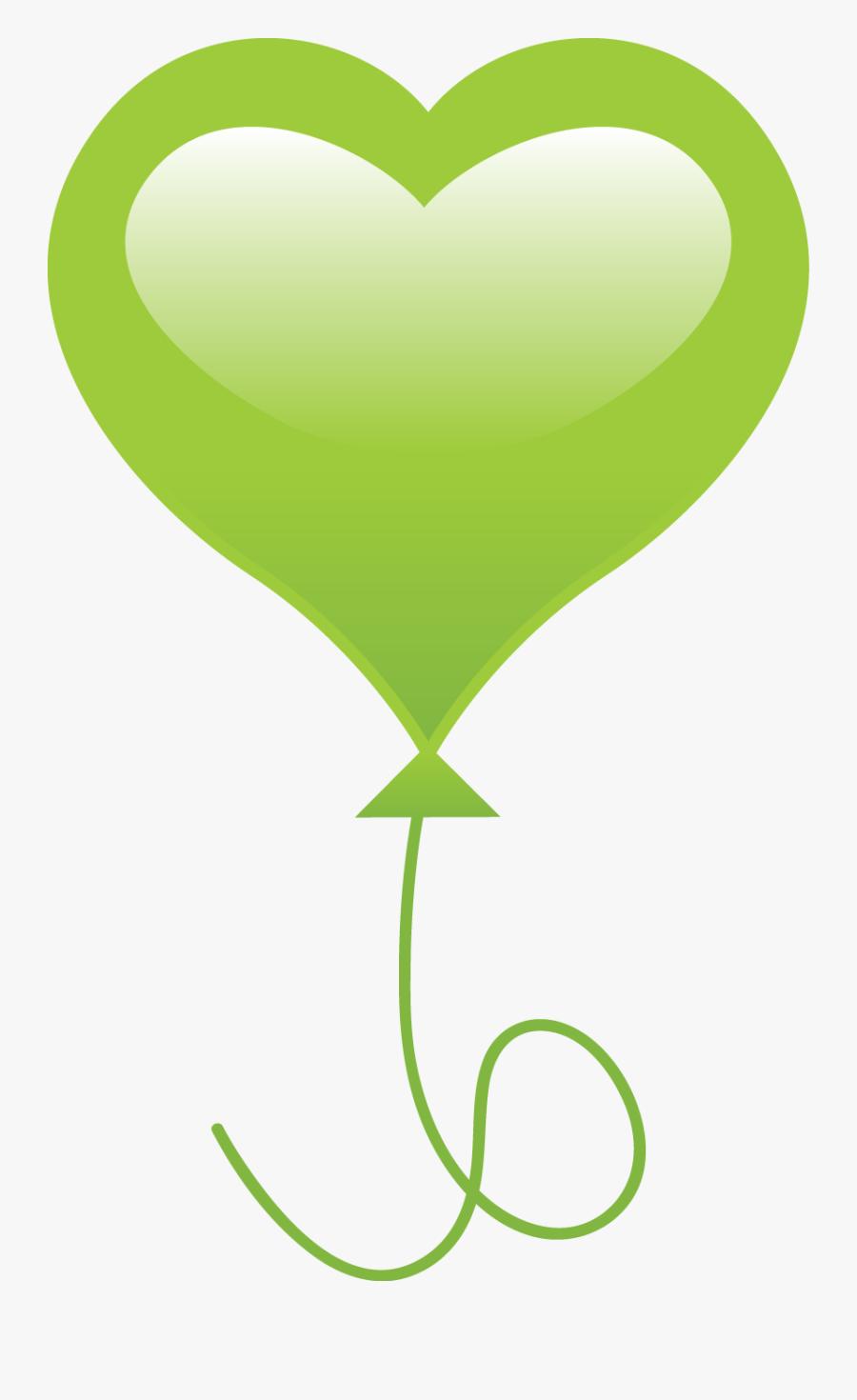Balloon Clipart , Png Download - Globos Png En Forma De Corazon, Transparent Clipart