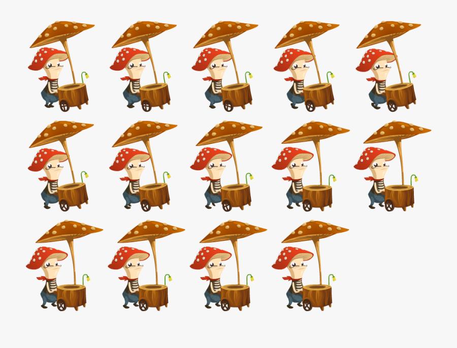 Skeletal Versus Sprite Sheet Animations - Animation Sprite Sheet Png, Transparent Clipart