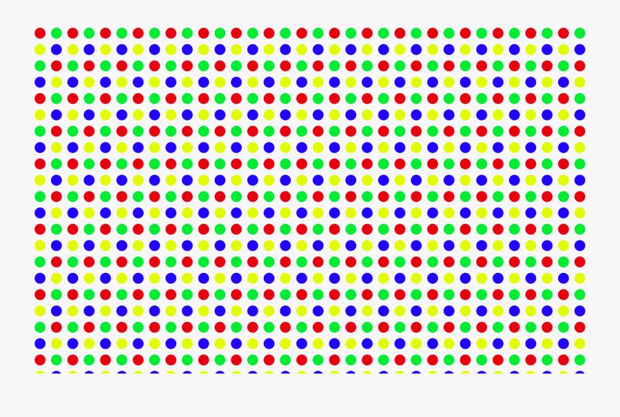 Pattern Clipart Polka Dot Pattern - Polka Dot Pattern Colorful, Transparent Clipart