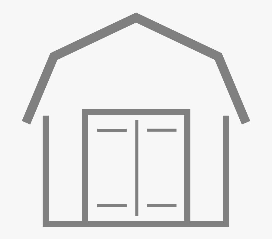Amish-built Storage Sheds In Nashville Tennessee Clipart - Garage Door, Transparent Clipart