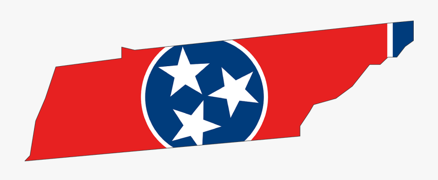 Tennessee Flag State, Transparent Clipart