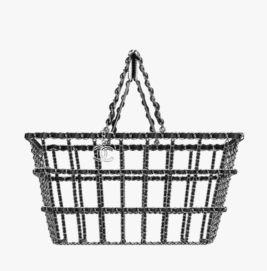 This Shopping Basket Will Cost You Just Over N2 Million - Crazy Chanel Bag, Transparent Clipart